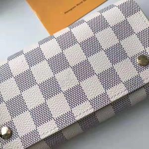 2018 popular men's and women's luxury wallet leisure long designer clip pocket fashion folding card bag 58080