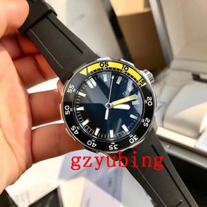 Luxe Montre-bracelet en acier inoxydable Aqua minuterie 2813 mécanique automatique Mouvement Sport Hommes Hommes Wtach Montres-bracelets