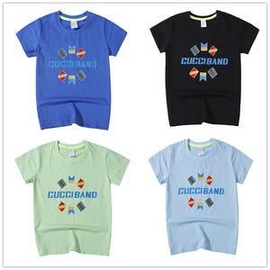 boîte de vêtements de bébé garçon de luxe vêtements pour enfants logo tout-petits enfants bébé filles Tenues T-shirt Tops Salopette Robe Strap Tenues Vêtements Set