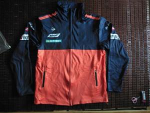 Chaqueta de la motocicleta prendas de vestir exteriores Motocross ropa deportiva Moto Racing equipo chaquetas cremallera cierre suave moda chándal