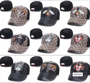 2018 fashion new style tiger Baseball Caps Curved visor Casquette gorras ball cap snapback sports hats for men women bone Luxury hats