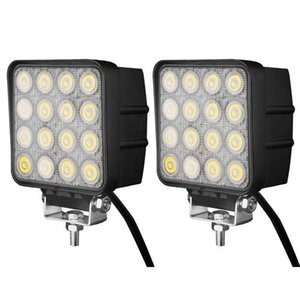 48W 16LED * 3W LED 작업 라이트 4.5 인치 홍수 스팟 빔 LED 자동차 빛 오프로드 사용 LED 일빛에 대한 트럭