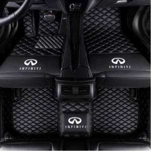 Подходит для Infiniti G37 JX35 Q50 Q60 Q70L QX30 QX50 QX56 QX60 QX70 QX80-Veloster Автомобильный коврик