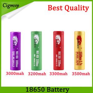 Mejor calidad IMR 18650 Batería 3000mah 3200mah 3300mah 3500mah 40A Leopard Print MAX50A 50A 2600mAh Batería recargable FEDEX UPS Envío