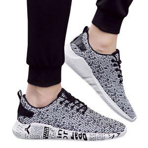 SAGACE Shoes Men Verão Outdoor Malha Moda Casual Lace Up confortável respirável Soles Student esportes funcionar sapatos X1226