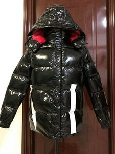 El más nuevo diseño de la marca de fábrica de los hombres abajo abajo de la chaqueta abajo abrigos para hombre cuello de piel al aire libre vestido de plumas cálido abrigo de invierno chaquetas