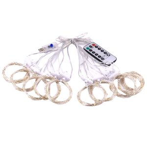 3x3 Meters 300 LED Curtain Fairy String Lights Hanging Backdrop Wall Lamp Wedding Xmas Party Decorations