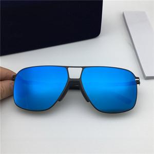Atacado Moda Designer Sunglasses MYKITA OAK Ultraleve Praça Metal Frame Top Quality Óculos de sol UV400 cor da lente filme com caixa