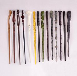 7 pçs / lote venda quente New Harry Potter varinha mágica Deathly Hallows Hogwarts presente varinha mágica Voldemort sem caixa original J190427