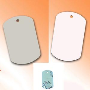 2 개 색상 MDF 승화 빈 뜨거운 전송 스테인레스 스틸 개 태그 펜던트 목걸이는 사진 빈 개 펜던트를 인쇄 할 수 있습니다
