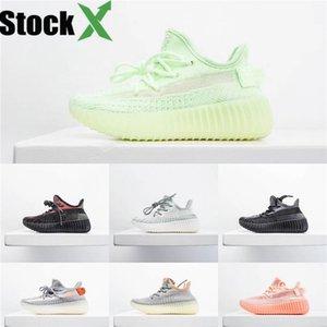 2020 Nueva Fashiony3 Zapatos Casual Botas Kanye West Y-3 Rojo Blanco Negro de alta Top zapatillas de deporte de los niños impermeable de cuero genuino # 195