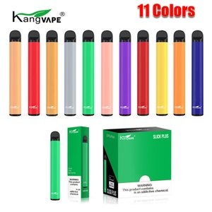 100% originale Kangvape Slick Plus Kit dispositivo monouso del pod 550mAh Batteria da 550 ml 3.5ml cartuccia pre-riempita 800 soffio vape vuoto penna autentica