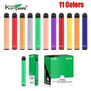 100% original Kangvape Slick Plus Dispositivo de POD desechable Kit 550mAh Batería 3.5ml Cartucho pre-lleno 800 Puff Vape Vacío Pluma Auténtica