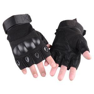 Taktischer Kampf-Handschuhe Fingerlose Handschuhe Half Finger Sport-Handschuhe für Multifunktions-Outdoor Wandern Klettern Radfahren Trainings Armee Schießen