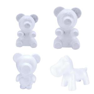 Articoli da regalo bianco polistirolo polistirolo Foam Orso Modeling fai da te San Valentino decorazione del partito