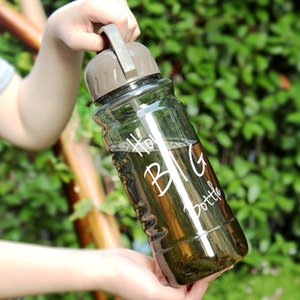 bpa free 2L large capacity Creative Bicycle sport outdoor plastic my water bottle portable juice straw kettle with Tea