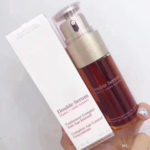 Top Quality Paris Double Serum Hydric Lipidic System Traitement Complet Intensif Facial Essence 50ml Brand Skincare Concentrate DHL ship