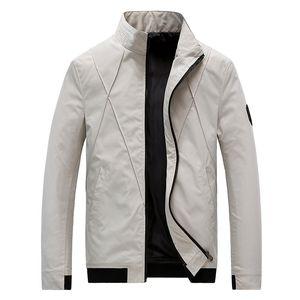 CYSINCOS rivestimento degli uomini casuale di modo allentato Mens Jacket sportivo Bomber Giacche Uomo uomini e cappotti Plus Size M- 5XL