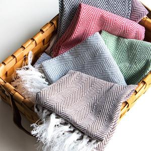 5шт 2019 новый чистый хлопок кисточкой салфетка ткань, настольный коврик, теплоизоляционная прокладка, чайное полотенце фон ткань