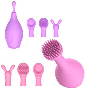 4in1 Vibradores Elétricos 7 Freqüência de Vibração da Massagem de Rotação Estimulação Do Clitóris Feminino Masturbador Brinquedos Vibrando Lança A1-1-253