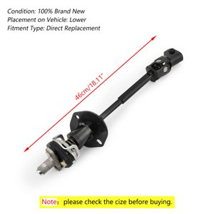 Areyourshop Steering Column-Intermediate Shaft 19256702 For Hummer G M 06-10 H3 Steering Gear Coupling Shaft Car Auto Parts