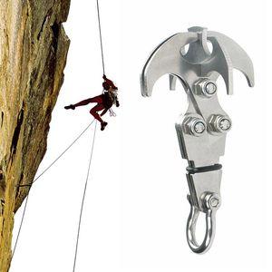 deporte extremo Escalada Escalada plegable garra multifuncional arnés al aire libre Garra Grappling Hook mosquetón de rescate equipo de escalada