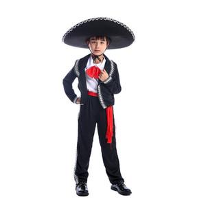 Костюм мальчика Хеллоуин костюм для детей мексиканский костюм Mariachi Party Set Матадор косплей карнавал косплей