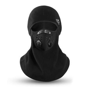 Masque à vélo Chapeau d'équitation d'hiver Masque extérieur coupe-vent chaud Couvre-chef anti-buée Antigel extérieure Toison Épaississement
