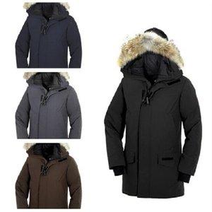 Mens Designer Jackets Winter Men Down Jackets Parka Canadian Outerwear Raccoon Fur Hooded Manteau Canada Down Jacket Coat Hiver Doudoune