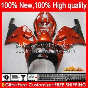 Pour le corps KAWASAKI ZX ZX750 ZX7R 7R orange, brillant 1996 2000 2001 2002 2003 28HC.20 ZX750 ZX 7 R ZX 750 ZX7R 96 97 98 99 00 01 02 03 Carénage