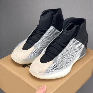 2020 Mens Quantum Basketball Shoes for Men Triple Black Zebra Kanye west 3M Sneakers Sports Reflective Sports Man Trainers des Chaussures
