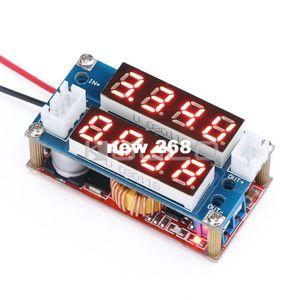 Бесплатная доставка 5 шт. / лот адаптер питания / зарядное устройство DC 5 в-30 В до 0.8 в-29 В 5A понижающий преобразователь регулируемый CC-CV регулятор напряжения+2 в 1 Вольт амперметр