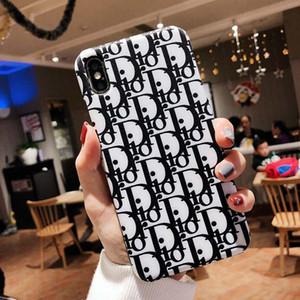 cas Designer téléphone étui portefeuille en cuir pour iPhone X XS Max XR 8 7 6 6S plus la couverture pour carte stand Holder A675