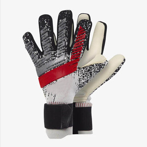 Men professional goalkeeper gloves Strong no Finger Protection soccer Thickened Latex Goal Keeper Gloves De Futebol Goalie Gloves