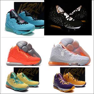 новый 17 Future Sunset Неон South Coast дешевые 17 Университет Красный Мужчины Баскетбол обувь Черный Белый Равенства Oreo Бред Джеймс 17s Увеличить Lakers Например