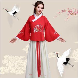 New Ancient ethnique vêtements Hanfu Lady Fée princesse Robe Film TV Performance Costume Pour Femmes vêtements de scène fantaisie Costume Pour chanteurs