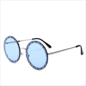 Erkekler Kadınlar Moda Sürüş Güneş Marka Tasarımcı Retro Vintage Güneş gözlüğü UV400 için yeni optik Yuvarlak Reçine Güneş