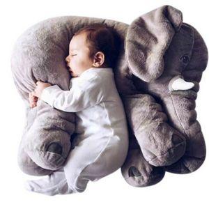 1 UNID 40 cm Infante Suave Apaciguar Elefante Playmate Calma Muñeca Bebé Apaciguar Juguetes Elefante Almohada Juguetes de Peluche Muñeca de Peluche