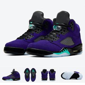 Nuovo arrivo 5 Alternate uva viola 2020 Uomo Pallacanestro Scarpe Sport Donne Sneakers Cesti 5s Jumpman formatori Dimensione 36-47 con la scatola