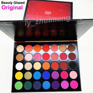 Maquiagem Paleta de Sombras 35 cores de Beleza esmaltada estúdio de cor Sombra de olho fosco e shimmer Sombra de Olho Paleta de cosméticos DHL Frete Grátis