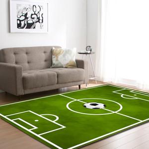 Impresso Crânio do açúcar Futebol Tapetes para Sala Corredor dólar área do retângulo Yoga Mats Modern Outdoor Piso Tapetes Home Decor