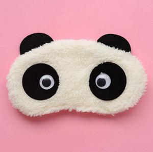 Algodão Panda Goggles sono máscara óculos Shading umidade dos olhos dos desenhos animados Melhorar a qualidade do sono Moist Olhos RRA2624