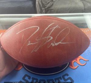 Kapı Futbol topu dışarı Deion Sanders İmzalı Signed signatured ABD Amerika rugby Milli Futbol Lig spor kapalı /