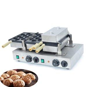 VENDA QUENTE elétrica Walnut Commercial doce Cake Machine Walnut Crisp Criador Waffle Walnut máquina de lanche