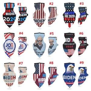 Spor Bisiklet Yüz Eşarp Küpe ABD Başkanlık Seçim Biden Çok fonksiyonlu Biden Başörtüsü Joe Biden Maske