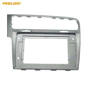 """FEELDO Car Stereo Audio Gesicht Blendrahmen 10.1"""" großen Bildschirm Modified Navigation für Volkswagen Golf 7 Panel-Kit # 2973"""