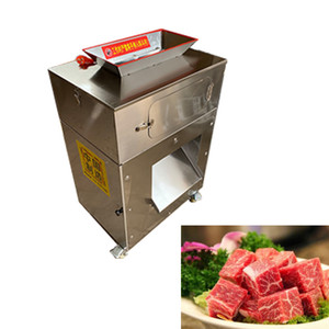High-quality stainless steel small chicken cutting machine, fully automatic commercial electric secondary molding chicken cutting machine