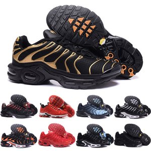 nike air max TN shoes Nouveau Hommes TN Sneaker Chaussures Chaud mens triple noir rouge bleu tn Running Chaussures designer formateurs Runner Athletic Chausseures Chaussures 40-46
