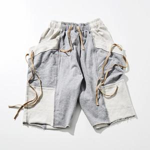 Hommes en vrac Sport Shorts Summer Luce Up Shorts Casual Male Designer Détendu