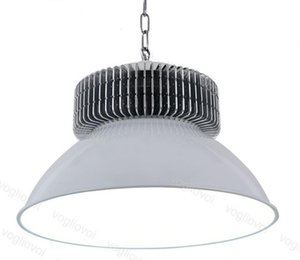 LED High Bay Lights 80RA SMD3030 50W 100W 150W 200W Industrielle Beleuchtung Grau 120 ° Abdeckung Aluminiumkühler Warehouse Garage Werkstatt DHL LFA